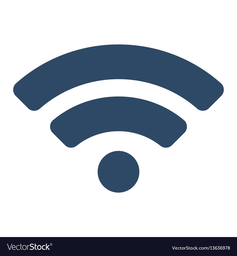 Wifi icon flat