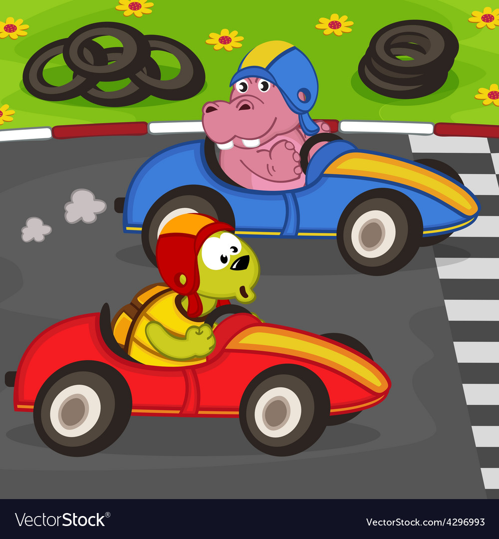 Animals in car racing