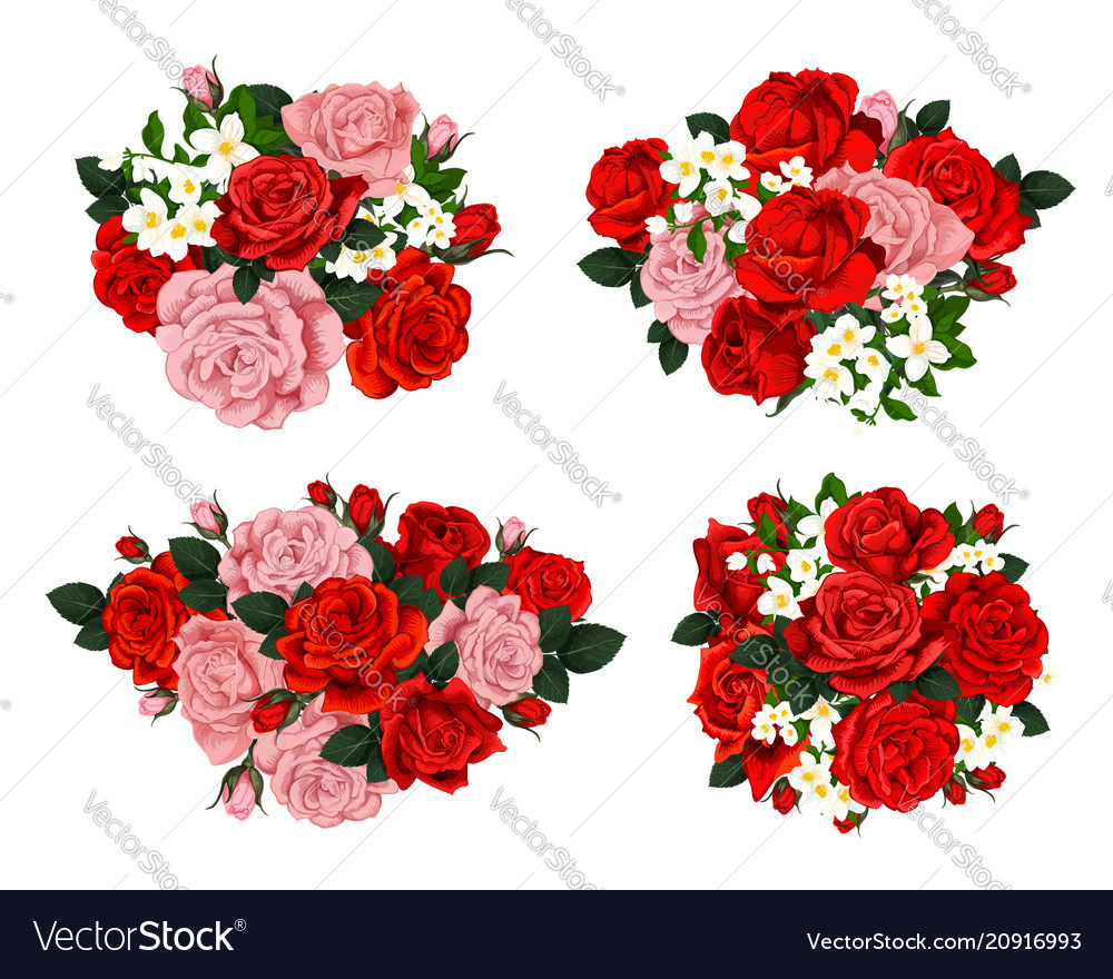 Composition flowers