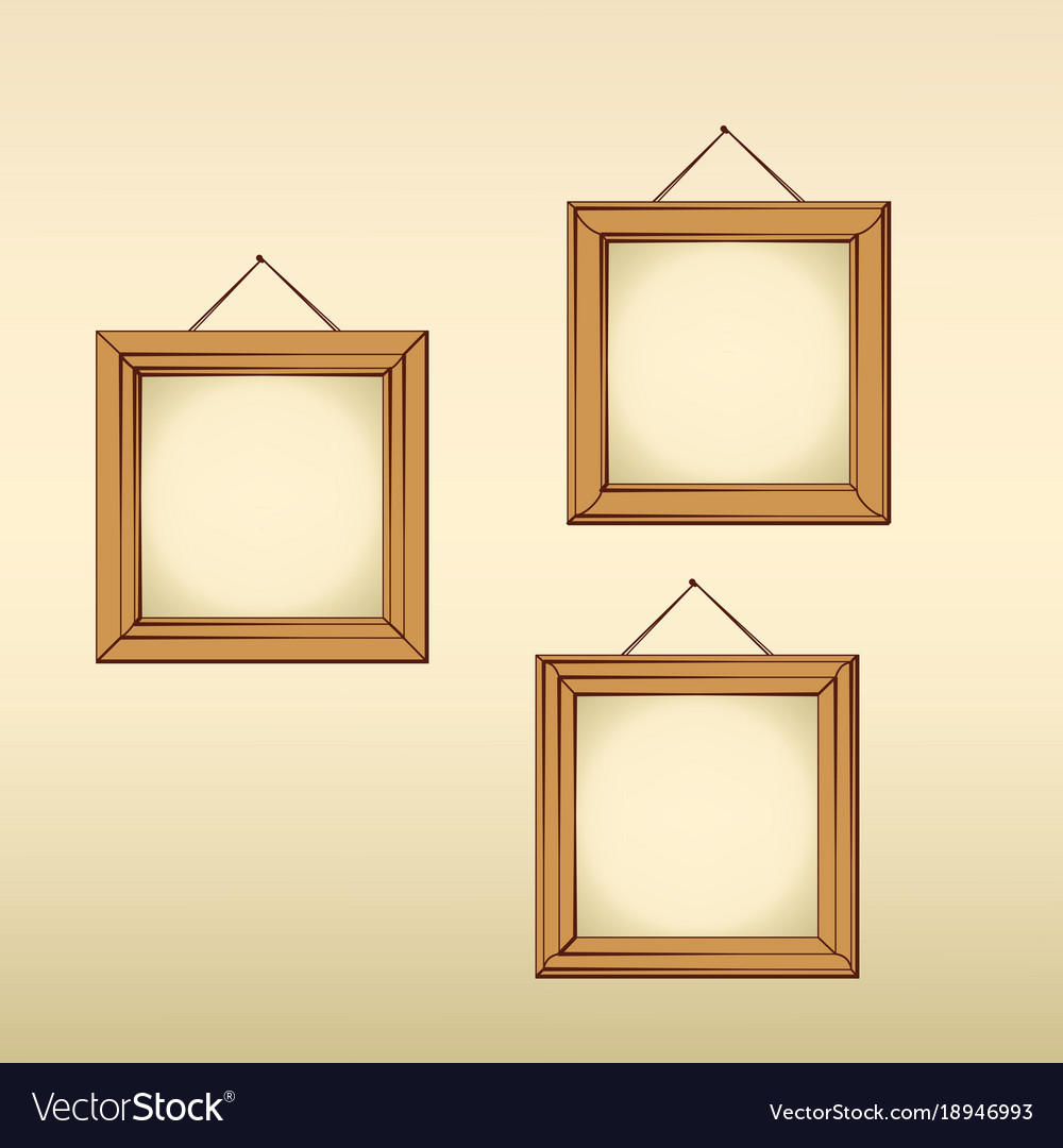 empty frames royalty free vector image vectorstock rh vectorstock com  images of empty frames