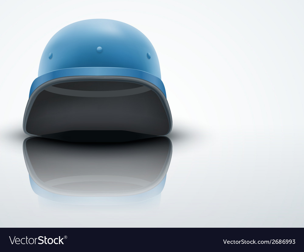 Light Background Military helmet of United Nations