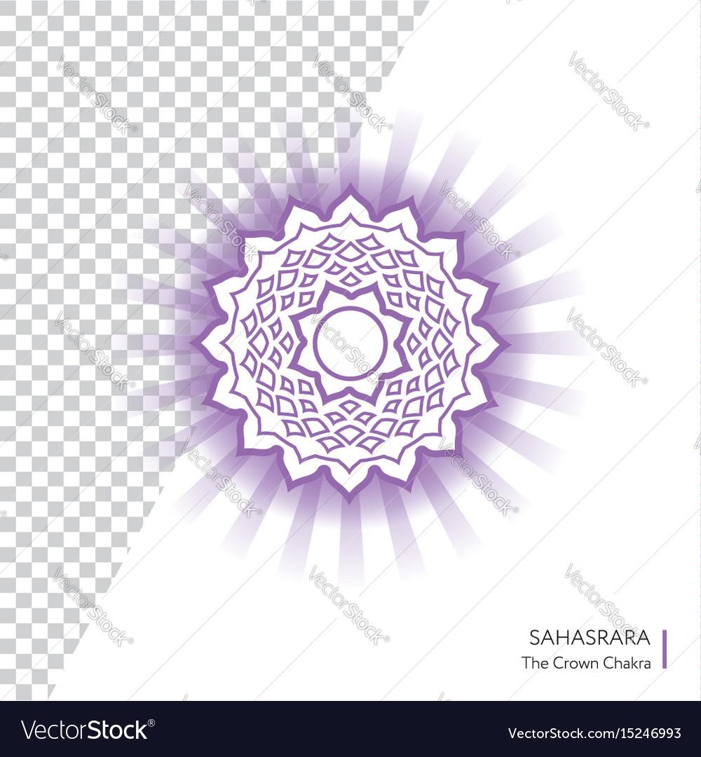 Sahasrara - crown chakra human body