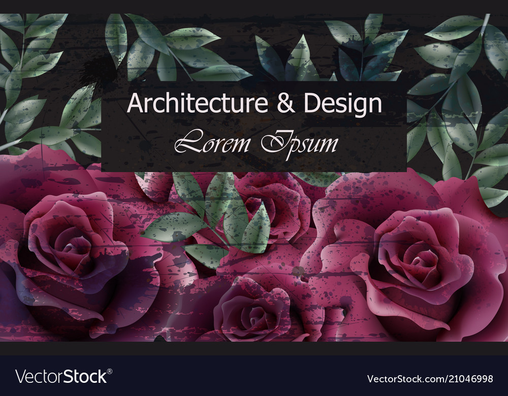 Beautiful roses background dark violet