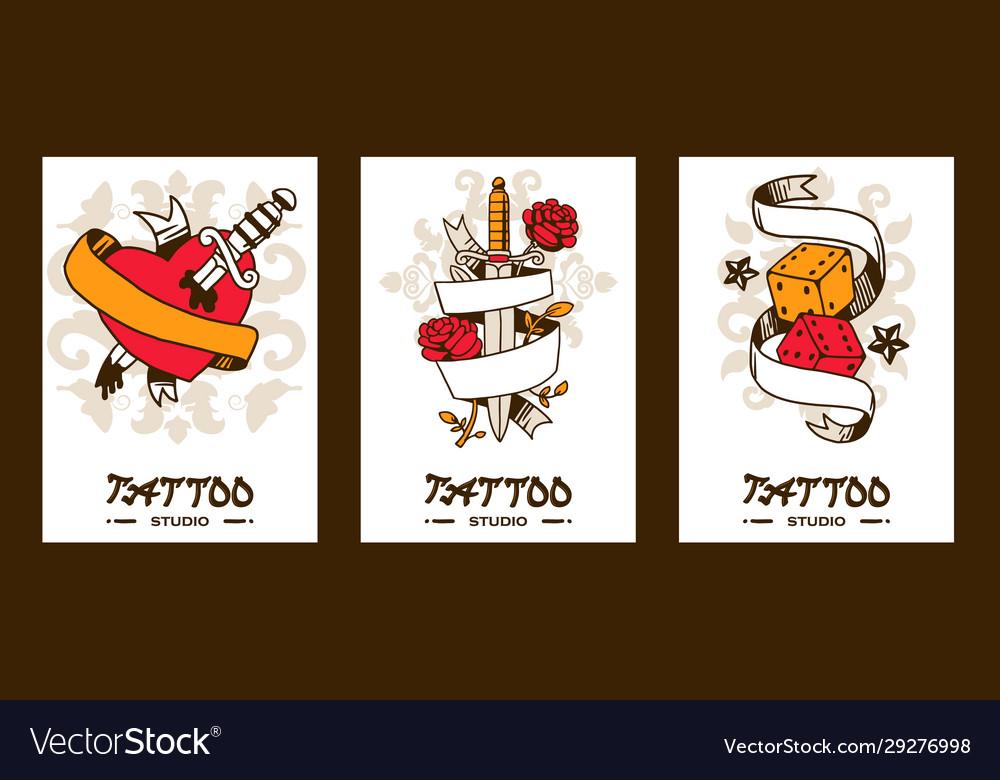 Tattoo studio banners