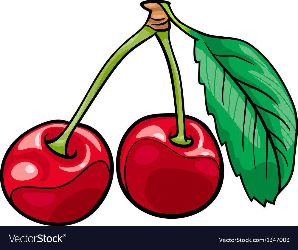 Cartoon Cherries Free Image