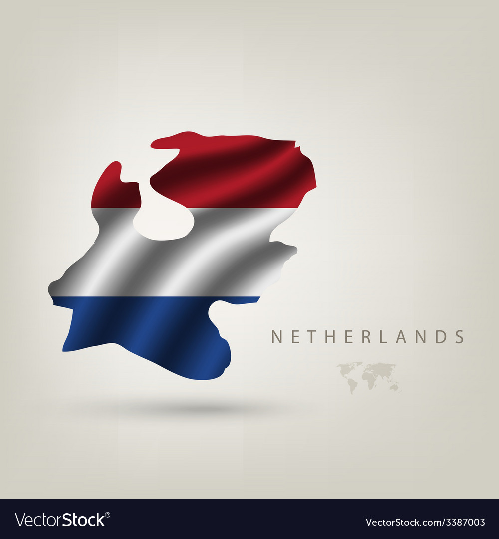 Flag of Holland as a country