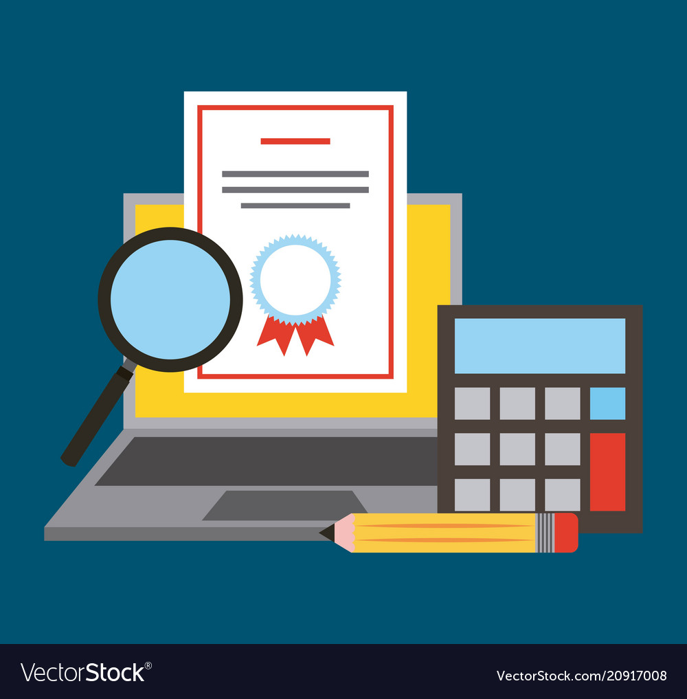 Learning Online Education Royalty Free Vector Image