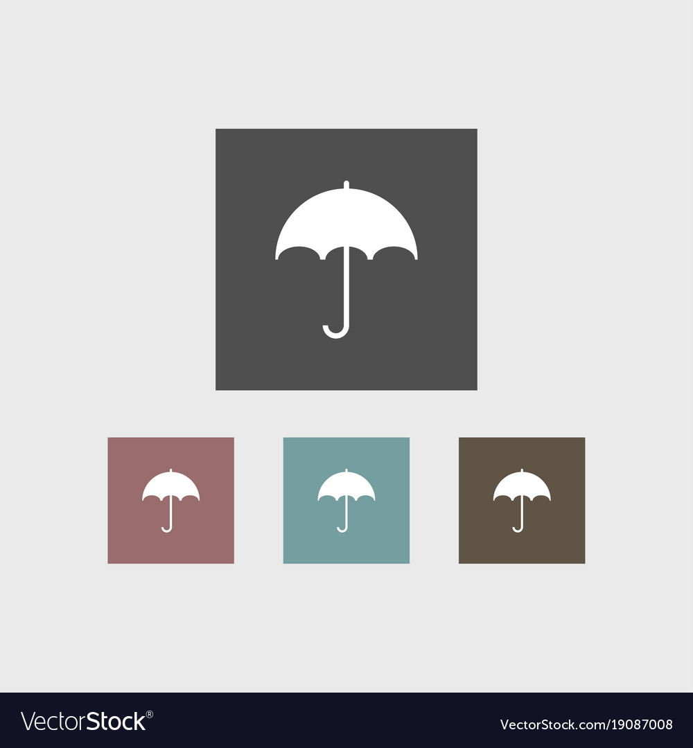 Umbrella icon simple
