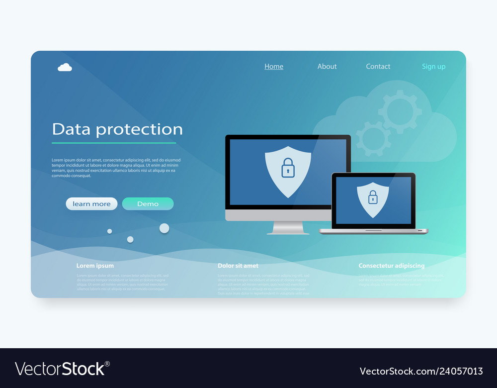 Data protection privacy internet security