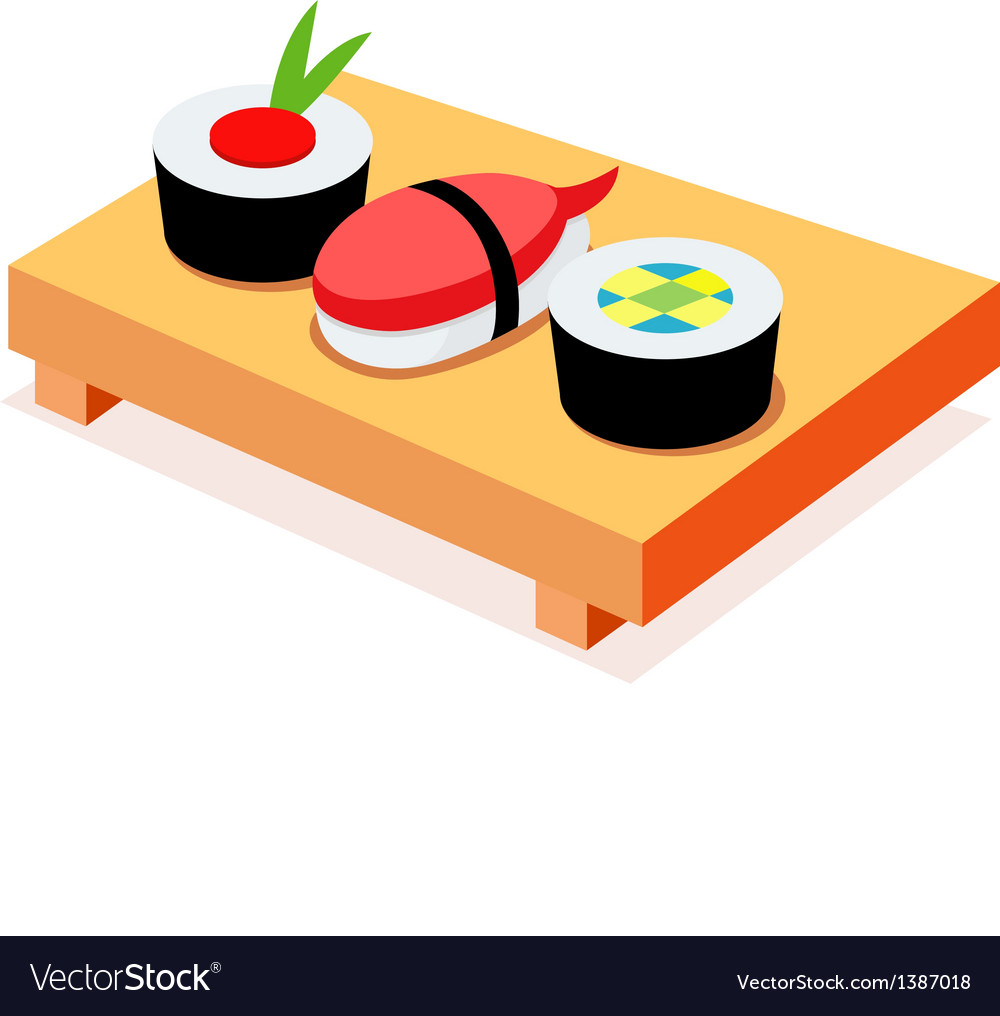 icon sushi royalty free vector image vectorstock rh vectorstock com sushi victorville sushi victoria tx