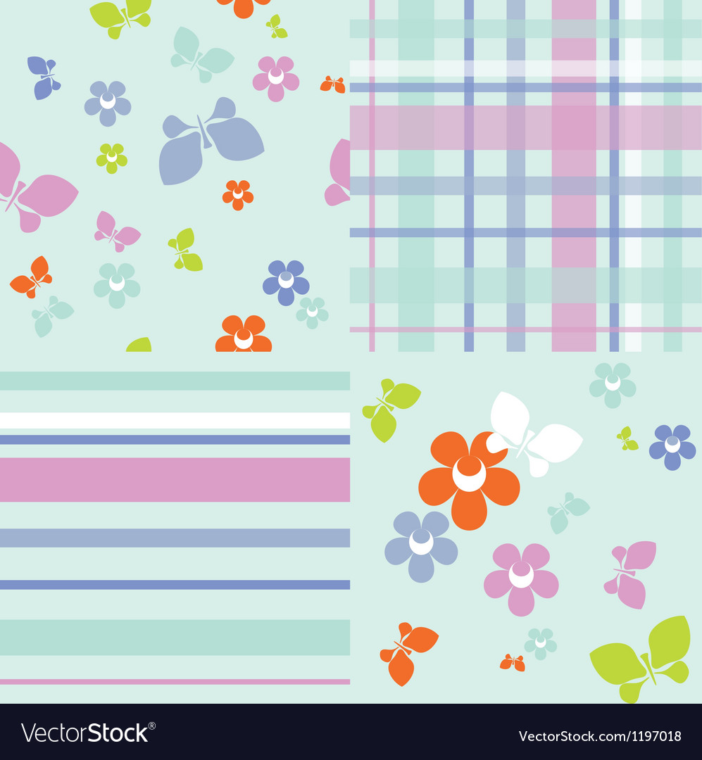 Pastel seamless vector image
