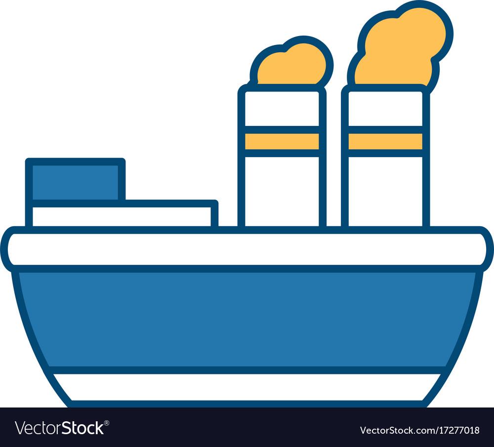 Steam boat ship