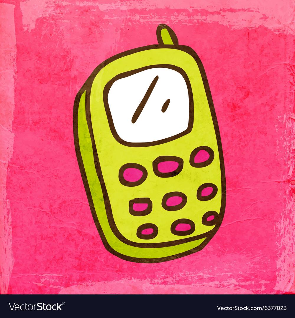 Cellphone Cartoon