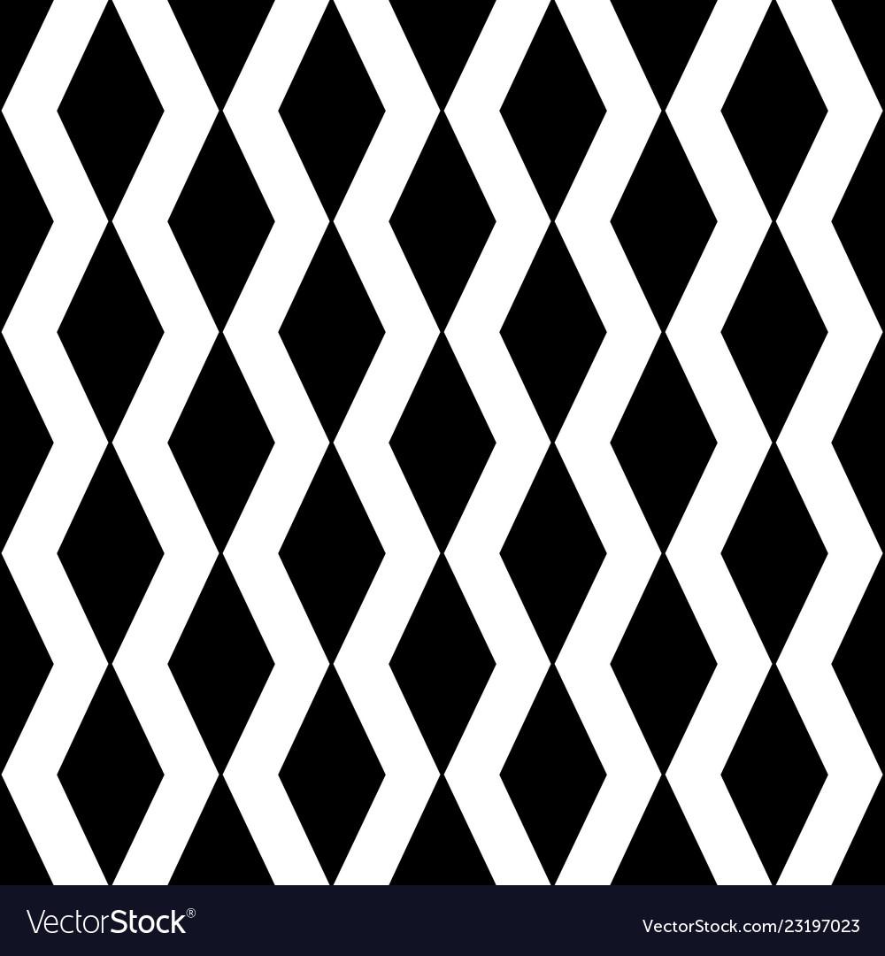 Geometric zig zag lines abstract seamless pattern