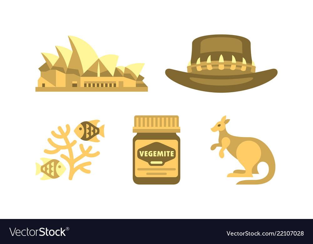 Australian national symbols set travel to