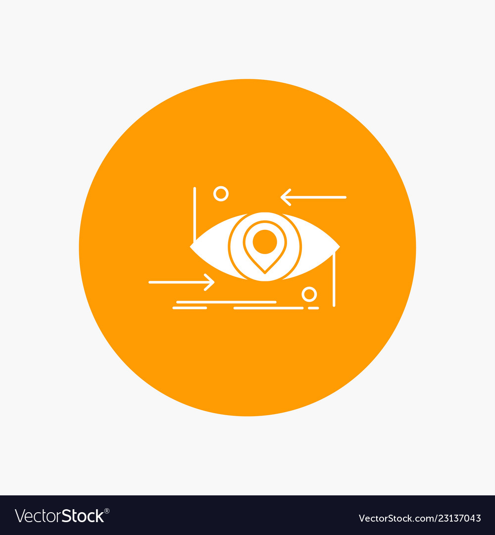 Advanced future gen science technology eye white