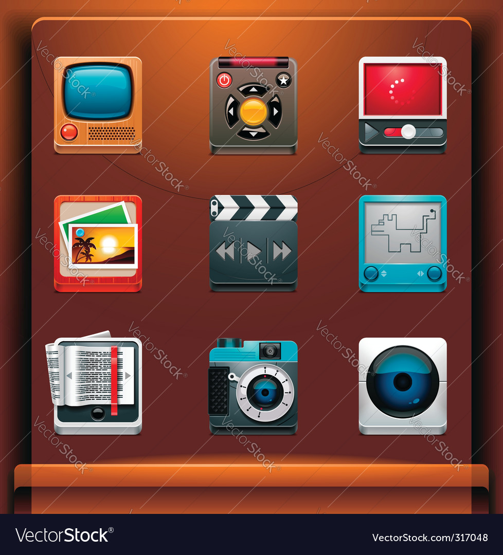Multimedia vector image