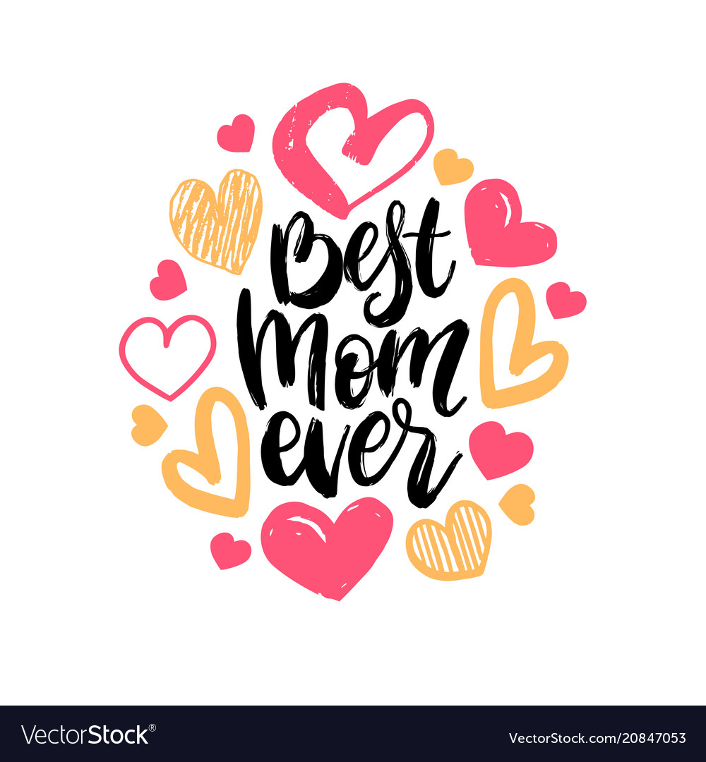 BEST MOM EVER purple Typography Quote from Zazzle | Mother ... |You Are The Best Momma Ever