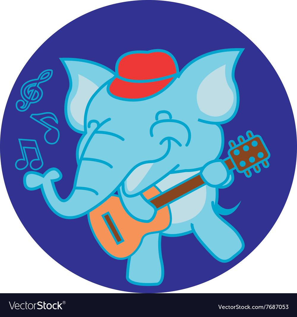 Elephant and Guitar