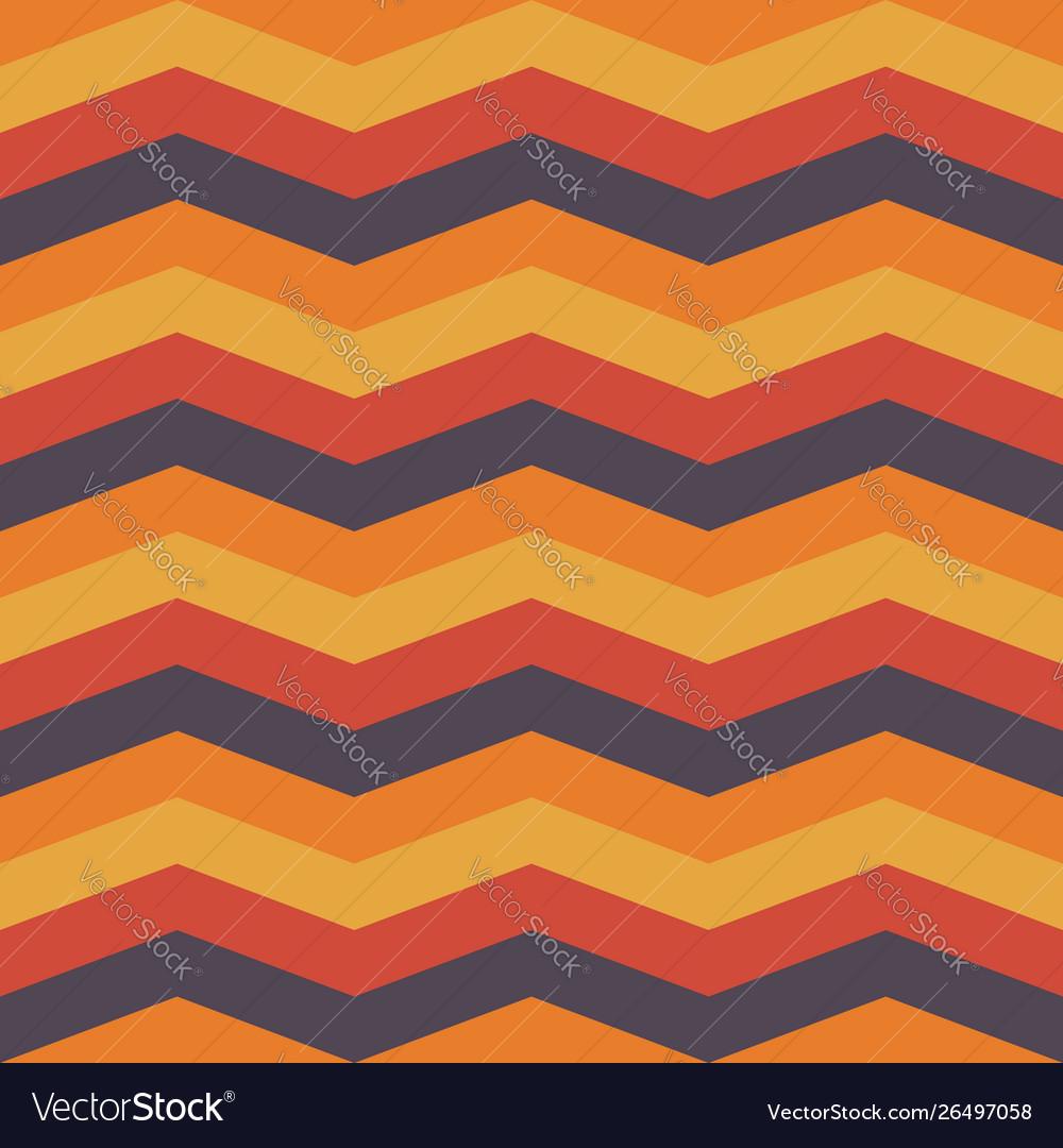 Autumn chevron seamless pattern background