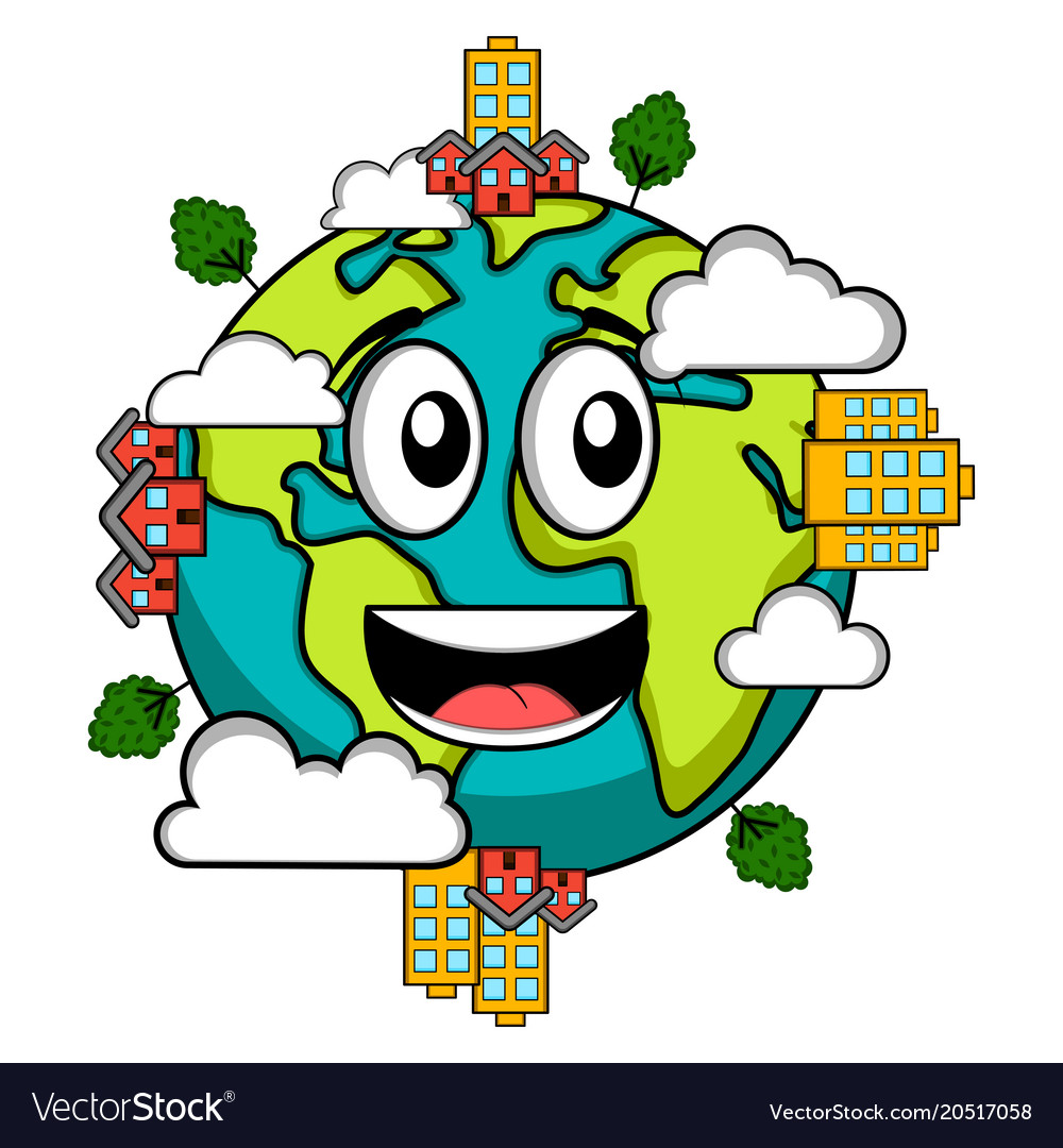 Happy Earth Day Images happy earth emote earth day royalty free vector image