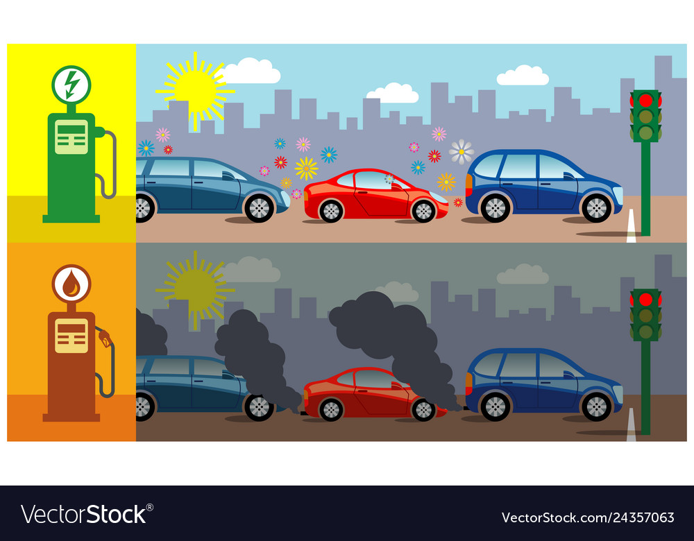 Electric Cars Vs Gas Cars >> Gas Vs Electric Cars