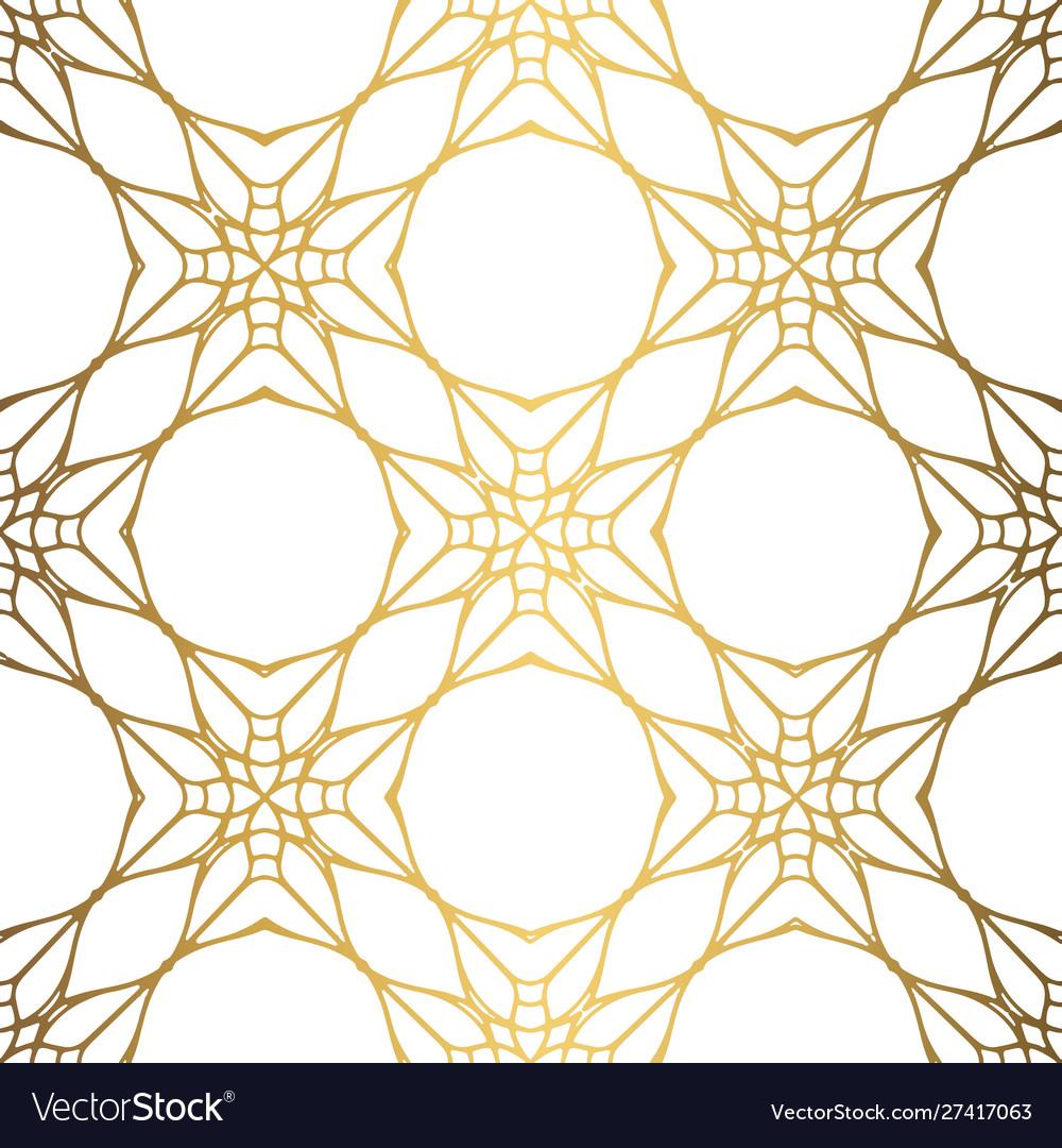 Golden background luxury seamless pattern elegant