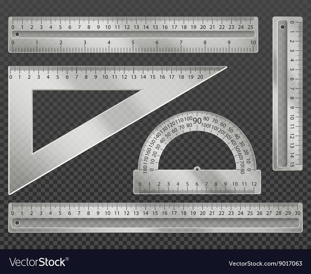 Measuring tools vector image