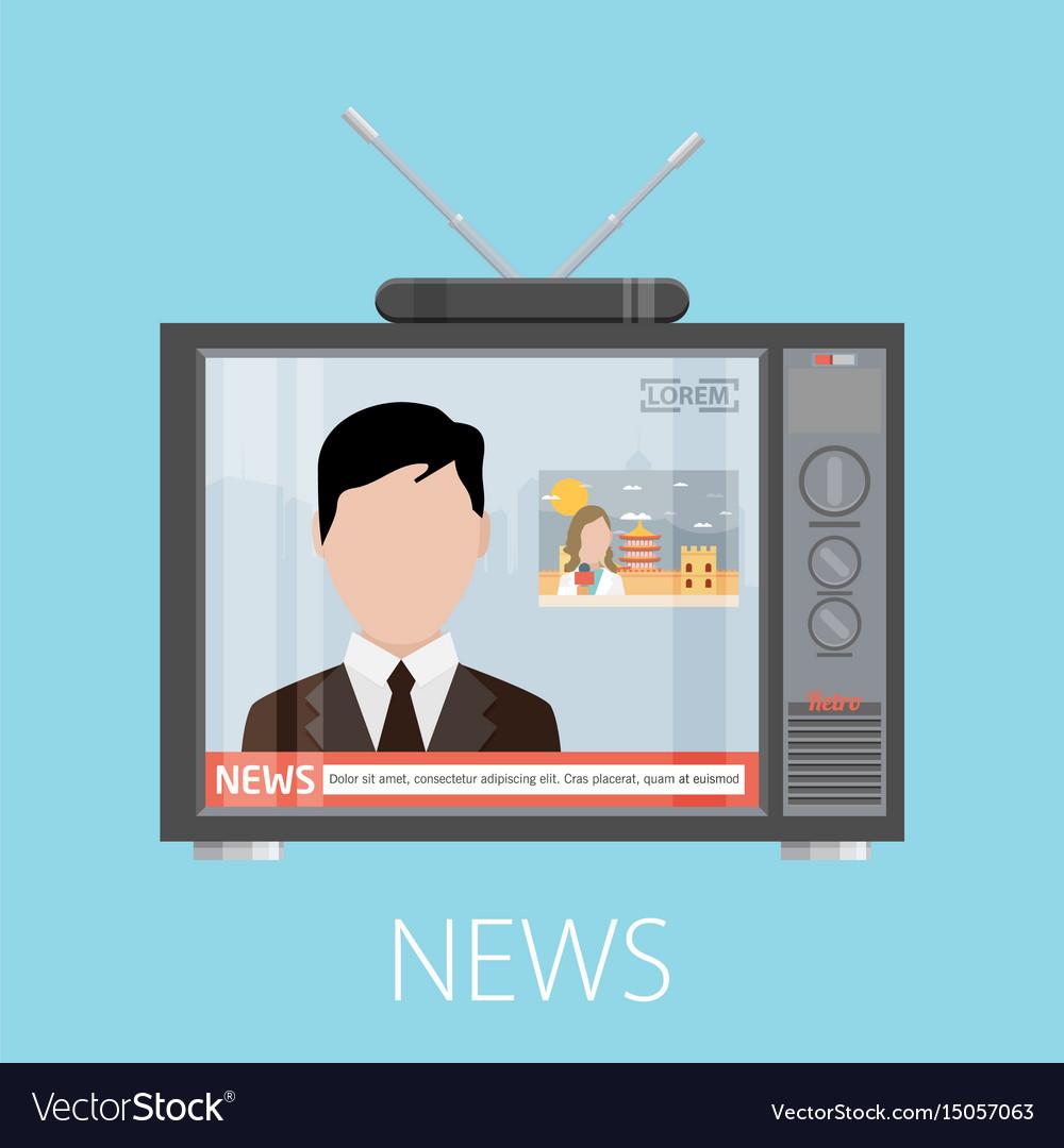 News concept design eps10 graphic
