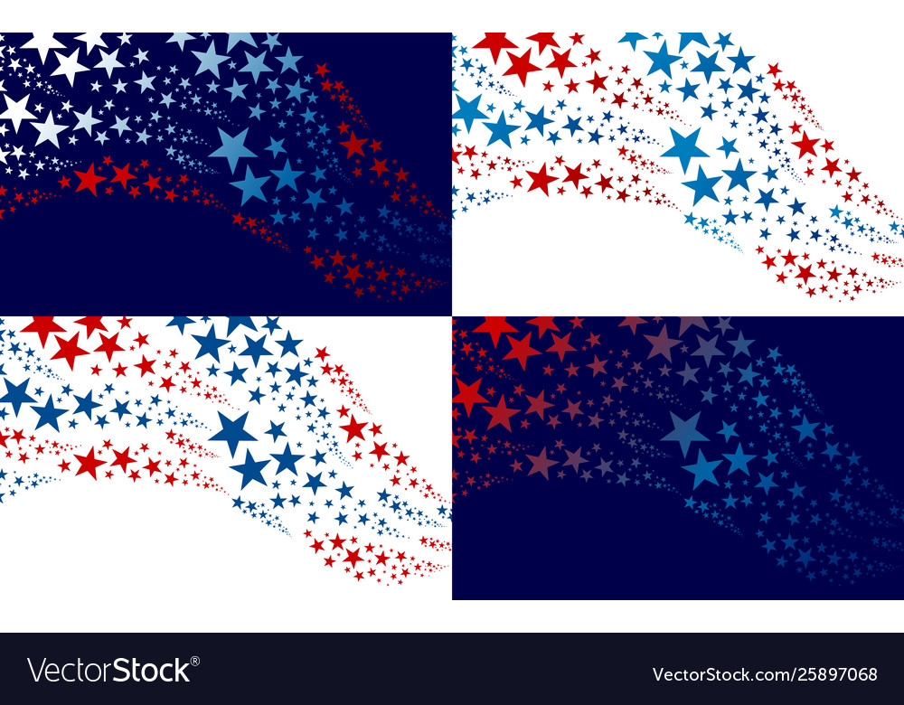 Abstract usa background design