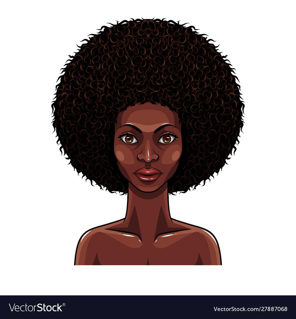 Portrait beauty african women