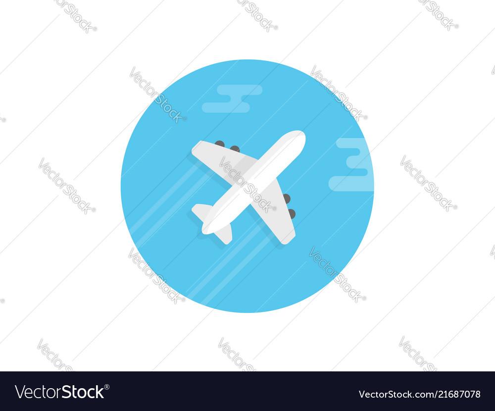 Plane icon sign symbol