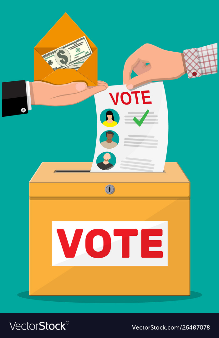 Selling vote for election