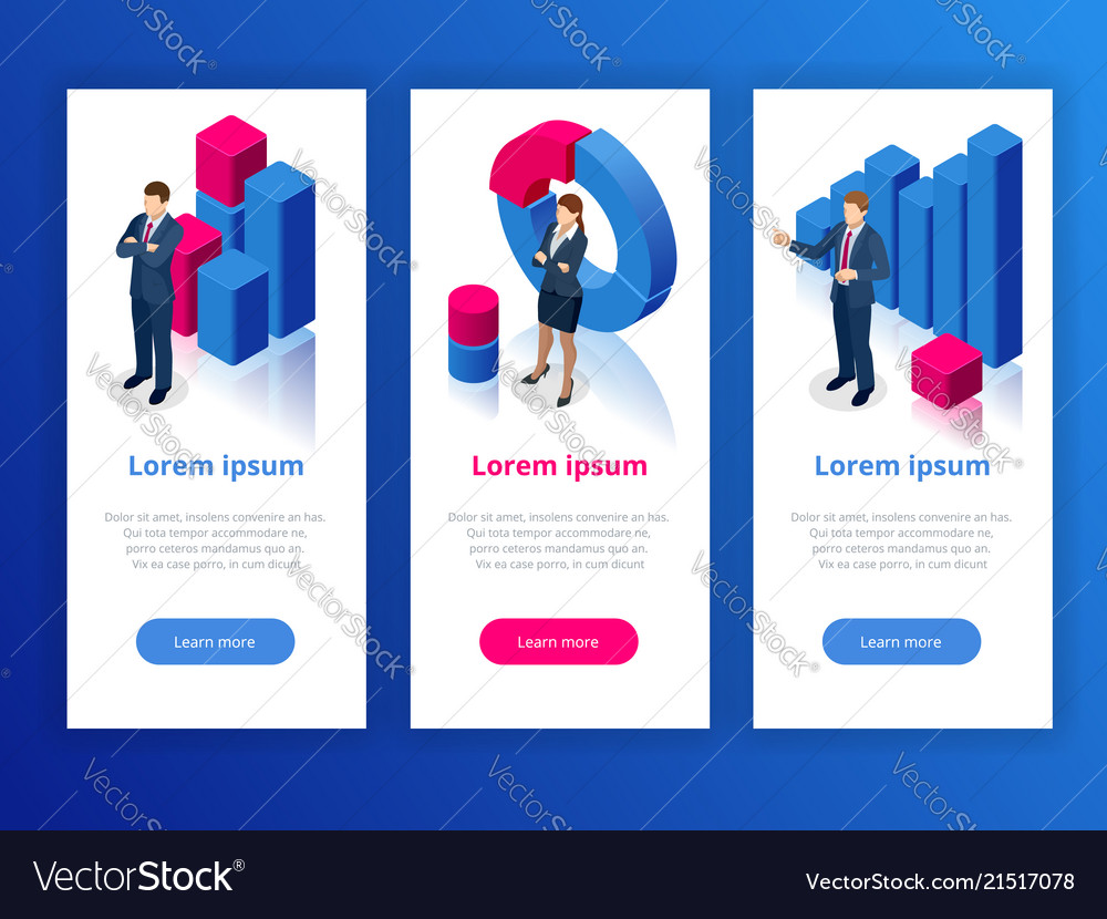Strategy and planning web banner data and