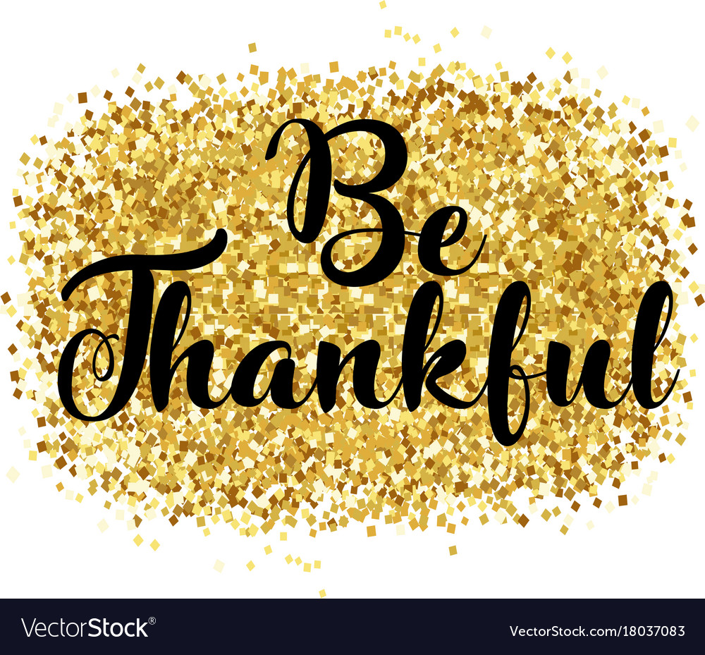 Happy thanksgiving day card thankful