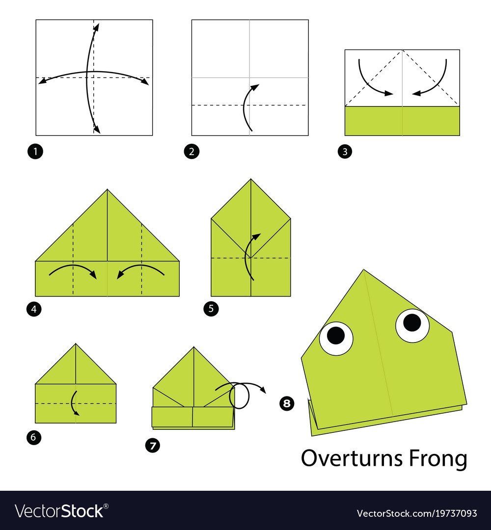 How To Make a Paper Jumping Frog - EASY Origami - YouTube | 1080x1000
