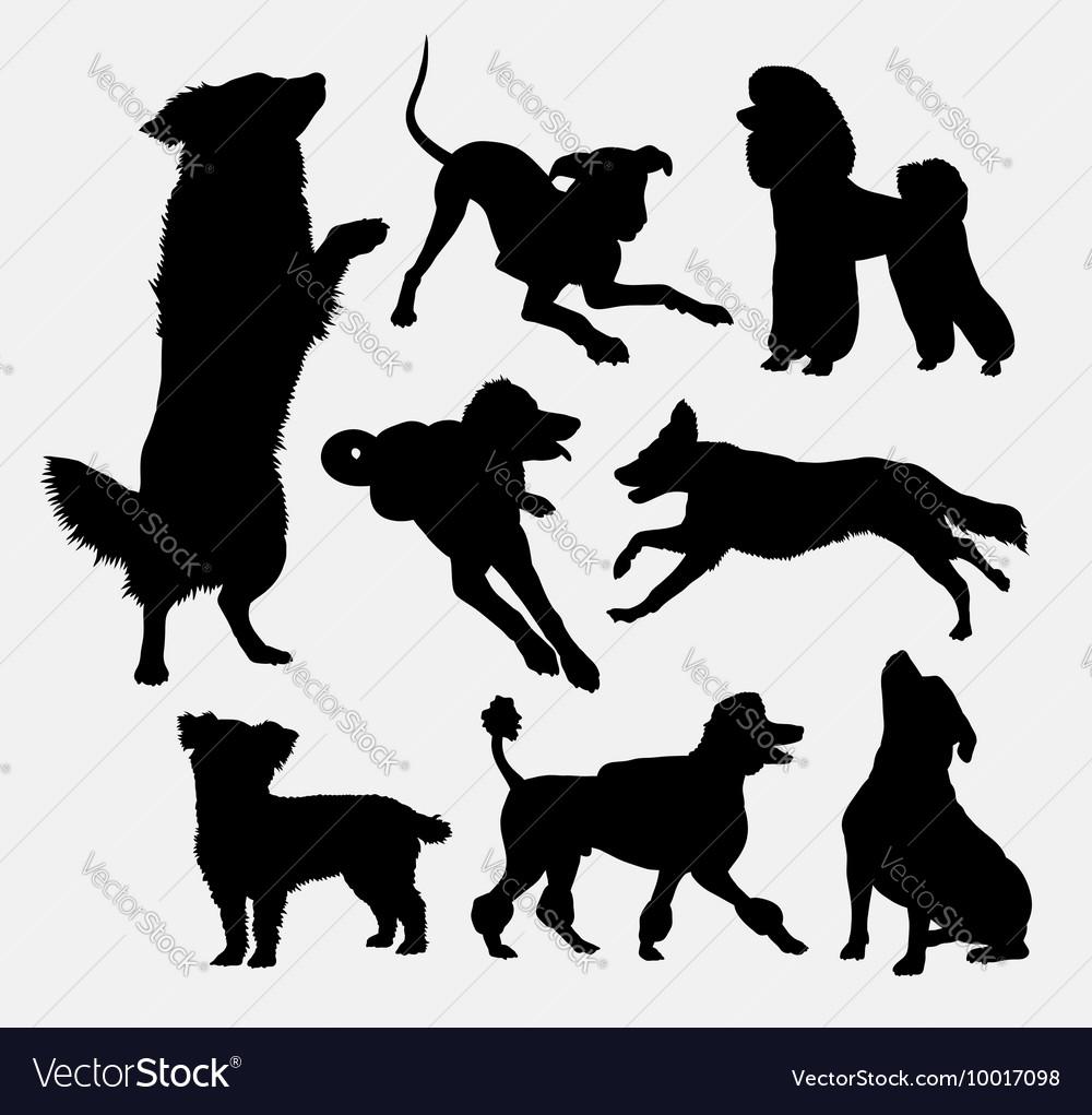 Dog pet animal silhouette 6