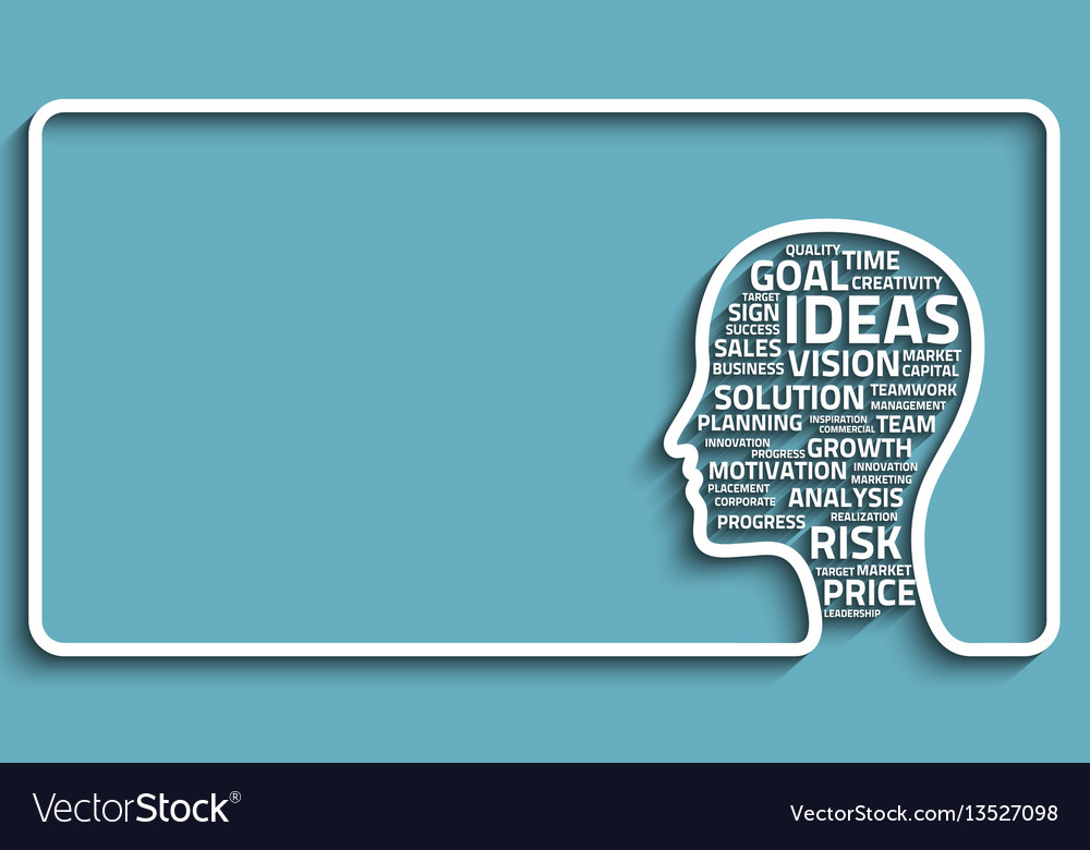 Inspiration concept head