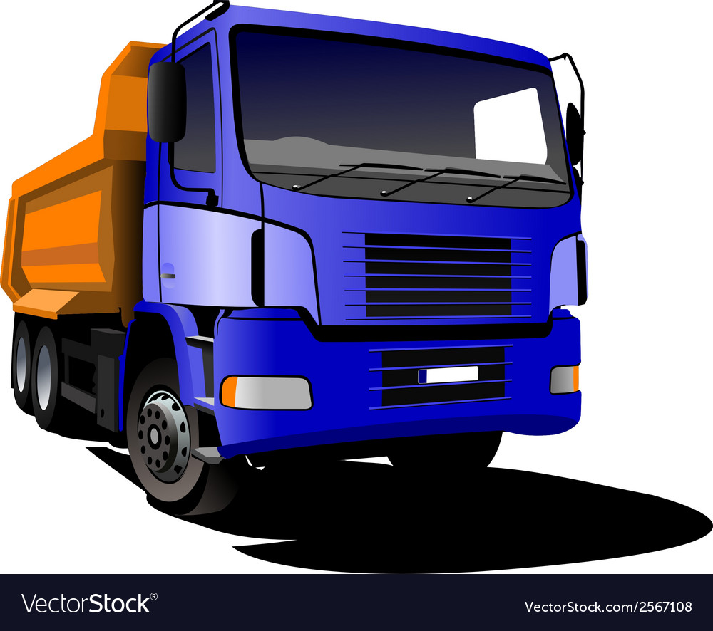 Al 0407 truck vector image