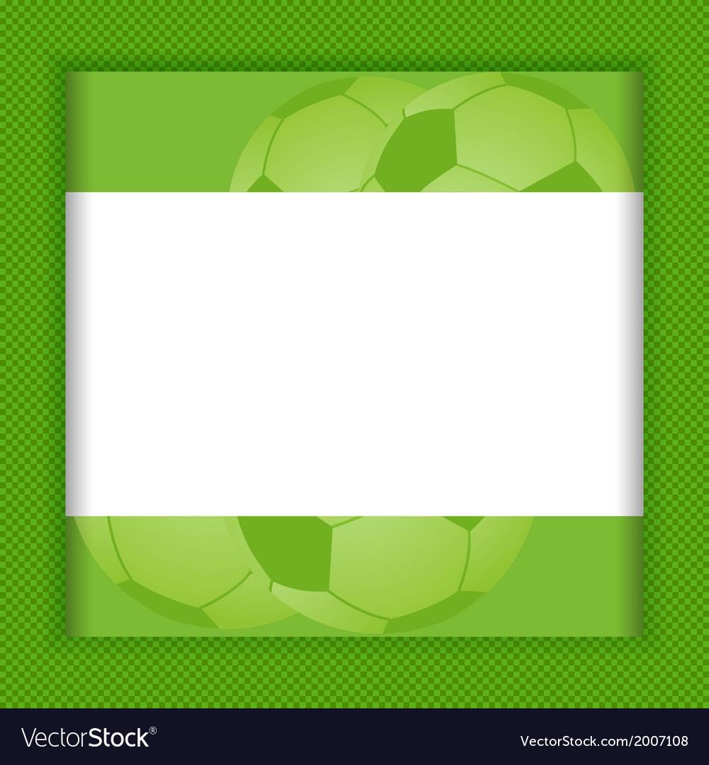 Football border background