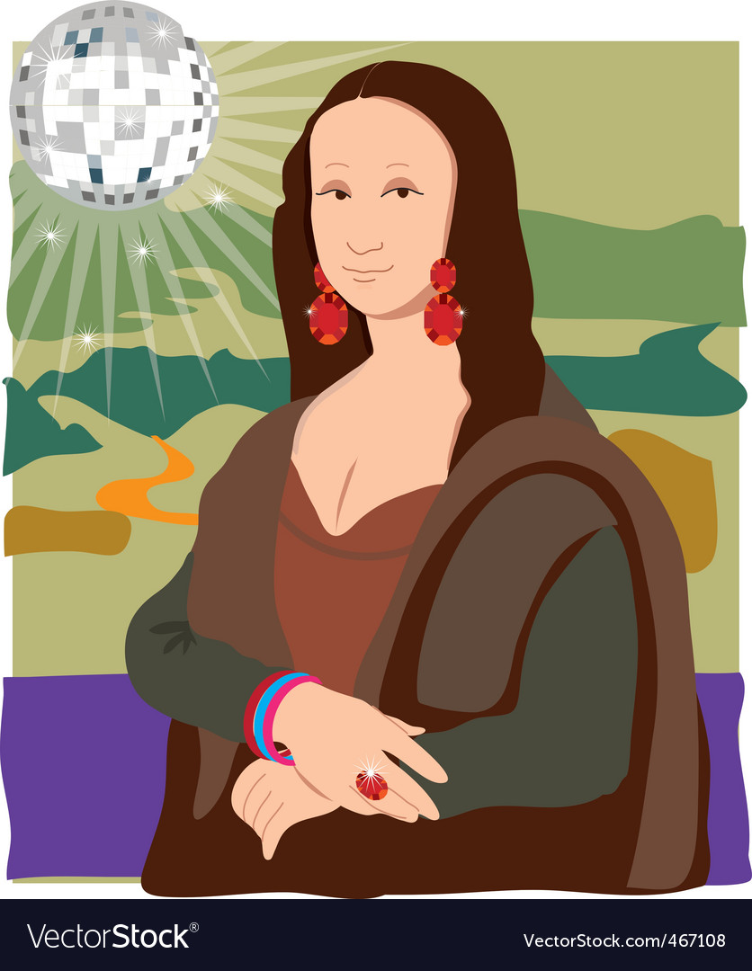 Mona Lisa disco lady
