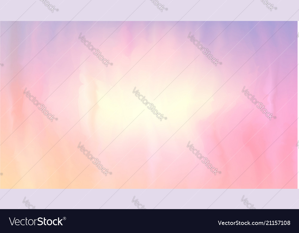 pink and peach color of paint mixed on wet surface vectorstock