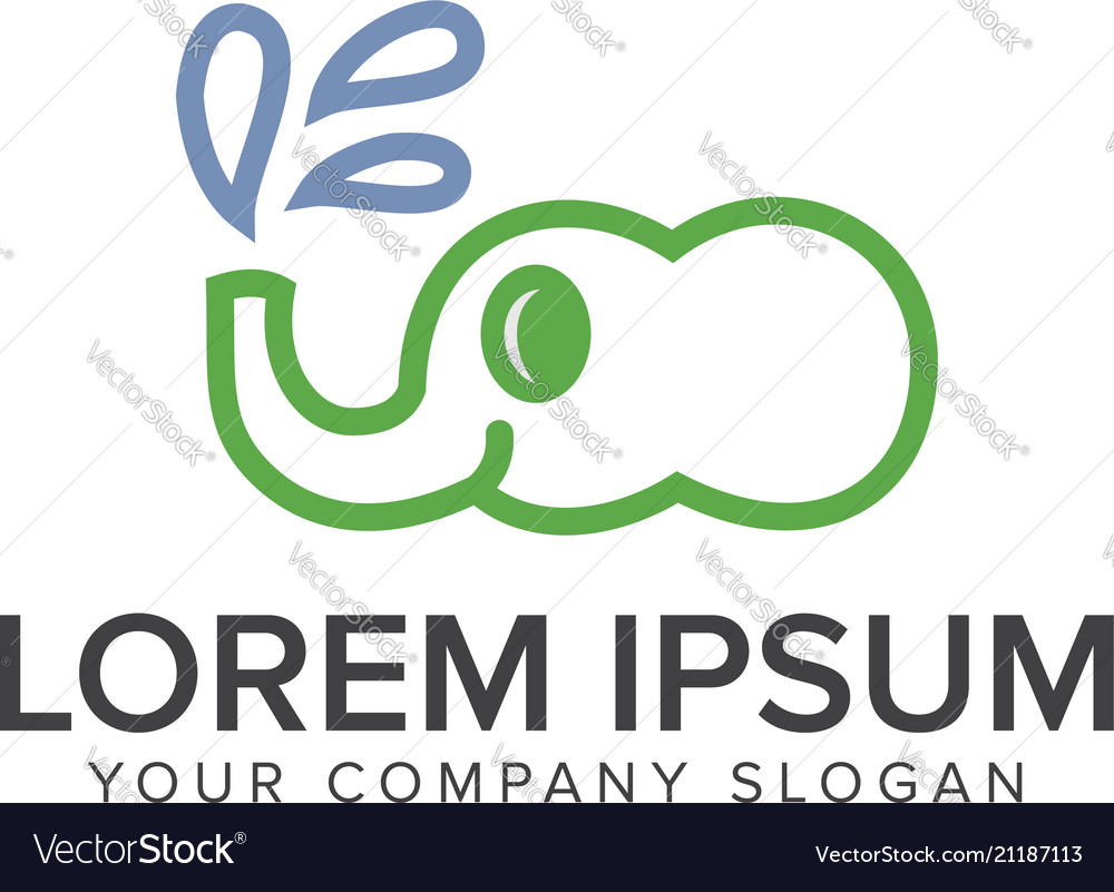 Elephant logo animal logo design concept template