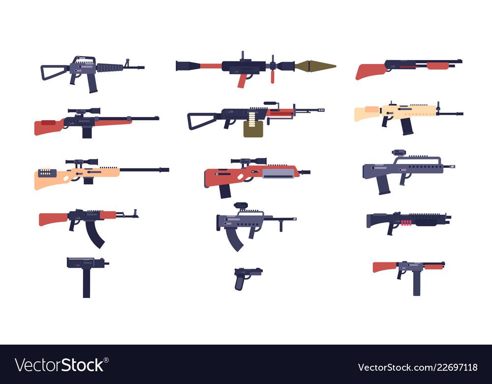 Automatic guns battle game weapons pistol