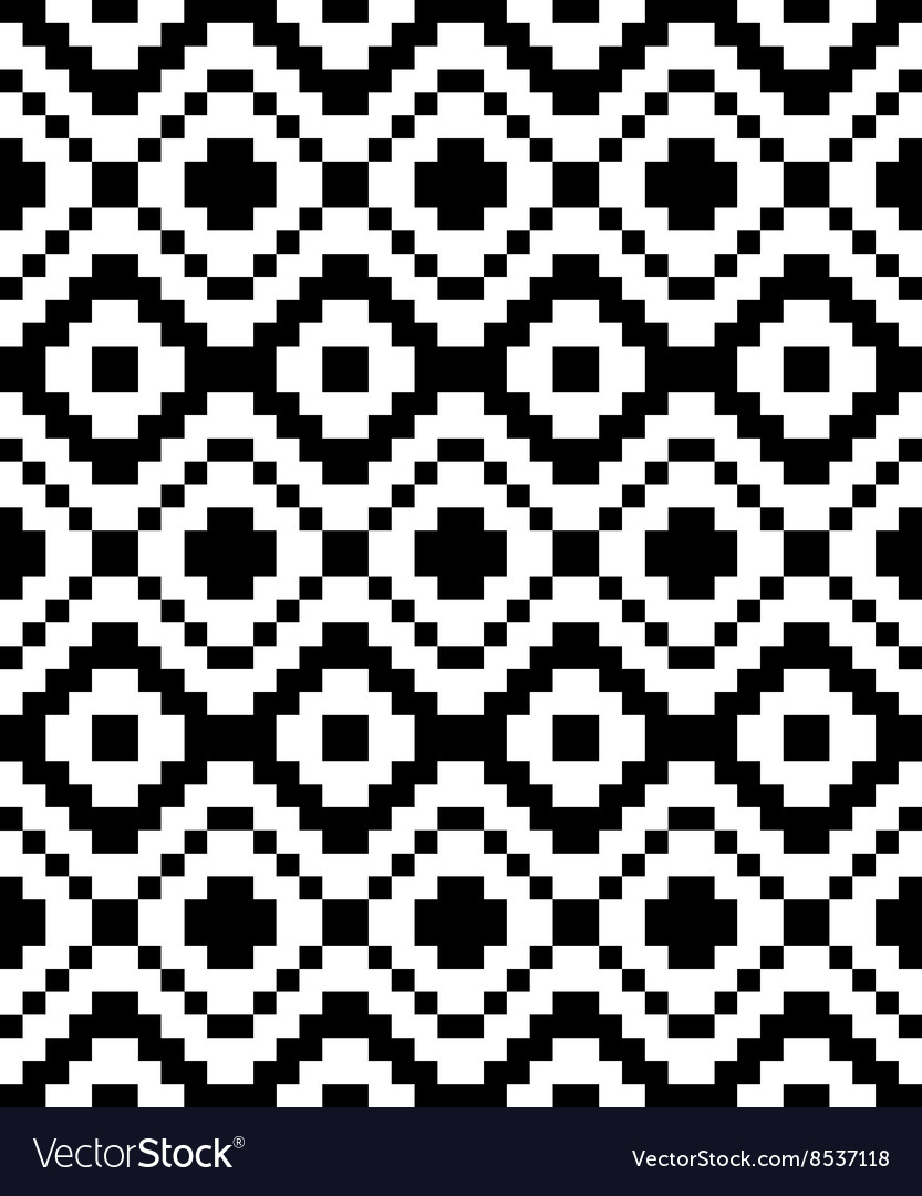Trendy seamless ethnic pattern