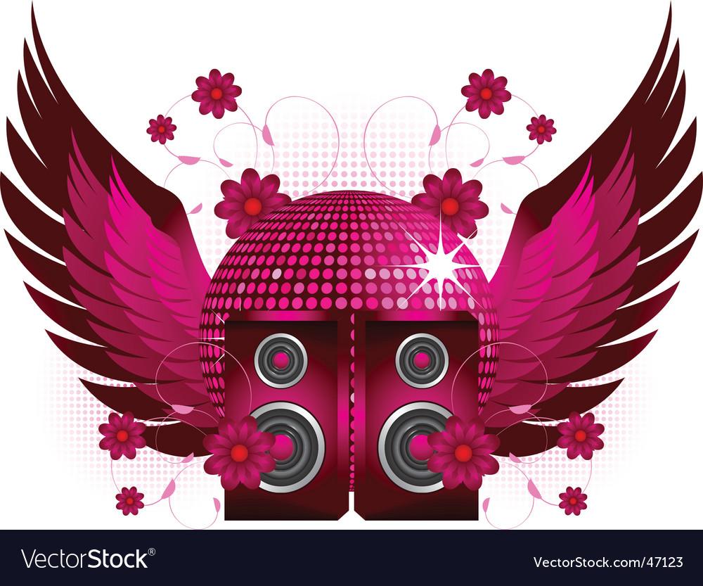 Speakers and wings