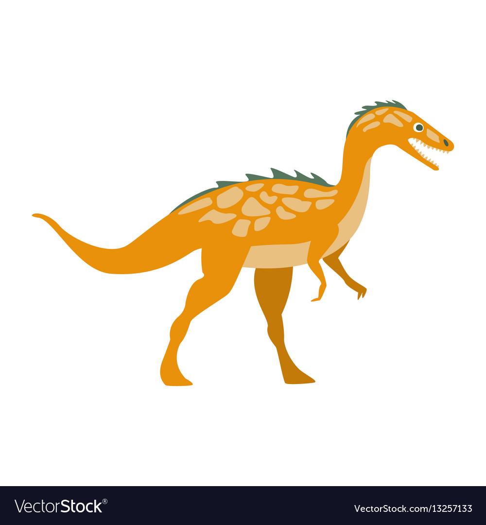 Predator raptor dinosaur of jurassic period