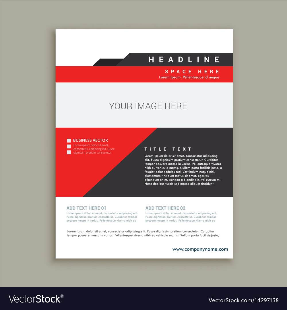 Business magazine poster template royalty free vector image business magazine poster template vector image cheaphphosting Choice Image