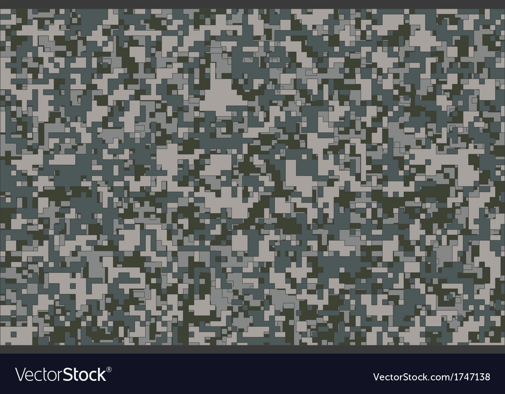 digital camouflage royalty free vector image vectorstock rh vectorstock com digital camouflage vector digital camo vector art