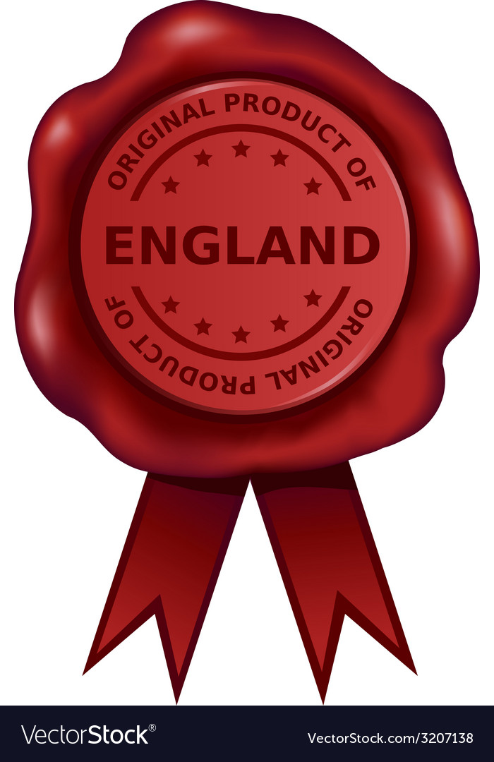Product Of England Wax Seal